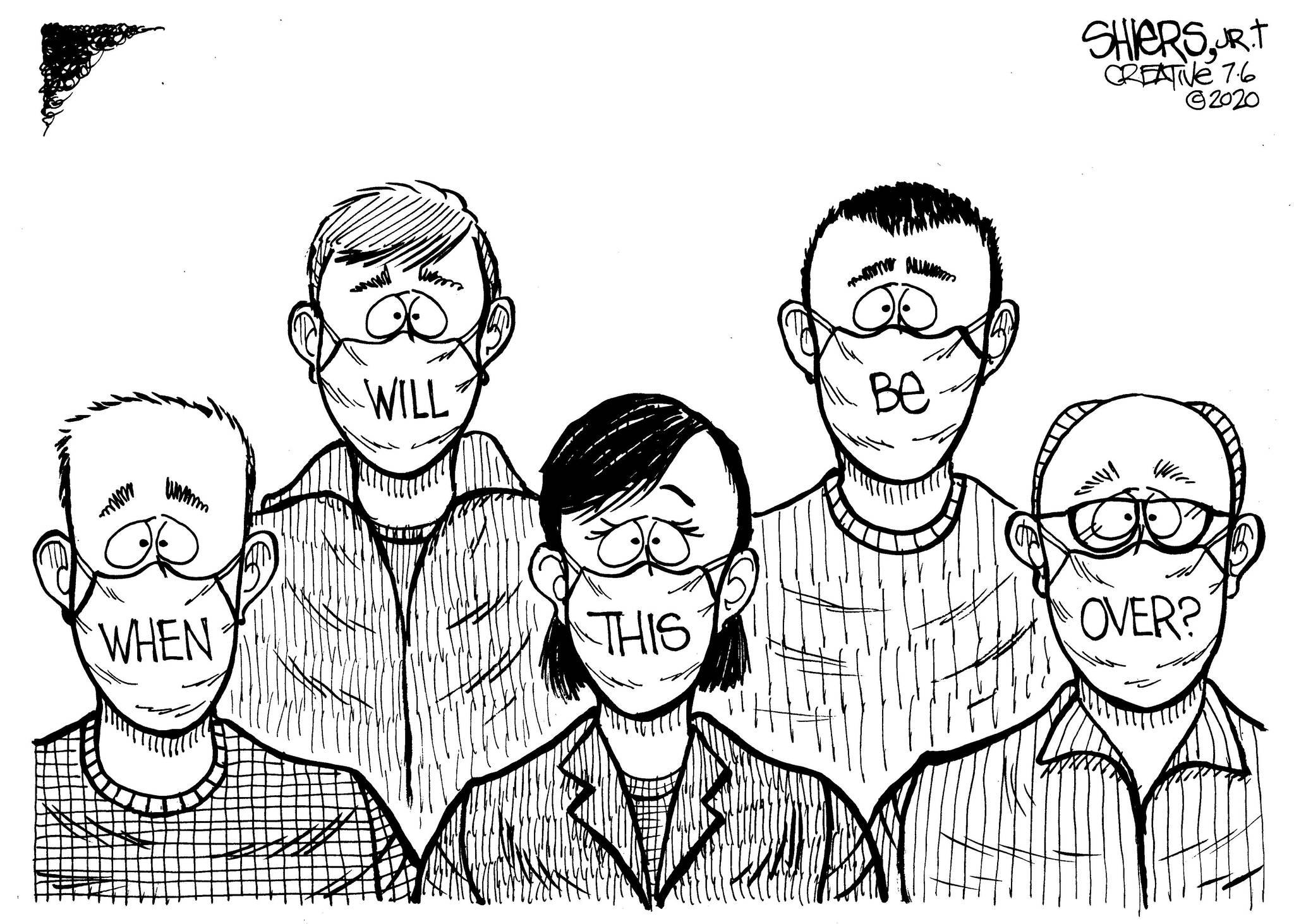 Cartoon by Frank Shiers